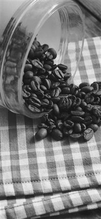 Coffee Art Life Nature Living Drip Dark Bw iPhone X wallpaper
