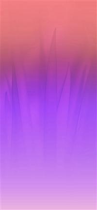 Soft Blue Nature Purple Pink Leaf Pattern iPhone X wallpaper