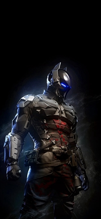 Batman Arkham Knight Body Armour iPhone X wallpaper