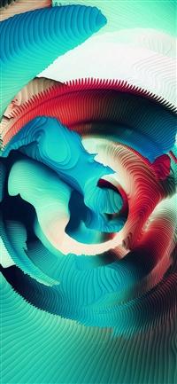 Pattern Art Abstract Quiz Pattern Blue Green iPhone X wallpaper