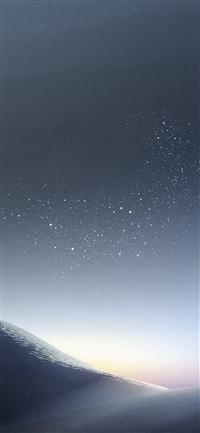 Galaxy Night Sky Star Art Illustration iPhone X wallpaper