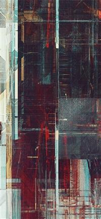 Art Complex Pattern Background Digital iPhone X wallpaper