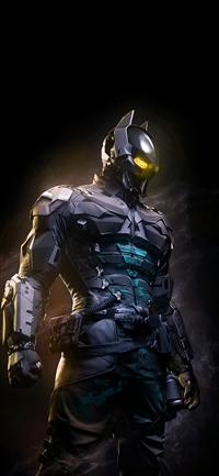Arkham Night Dark Hero Batman Digital Illust Art iPhone X wallpaper
