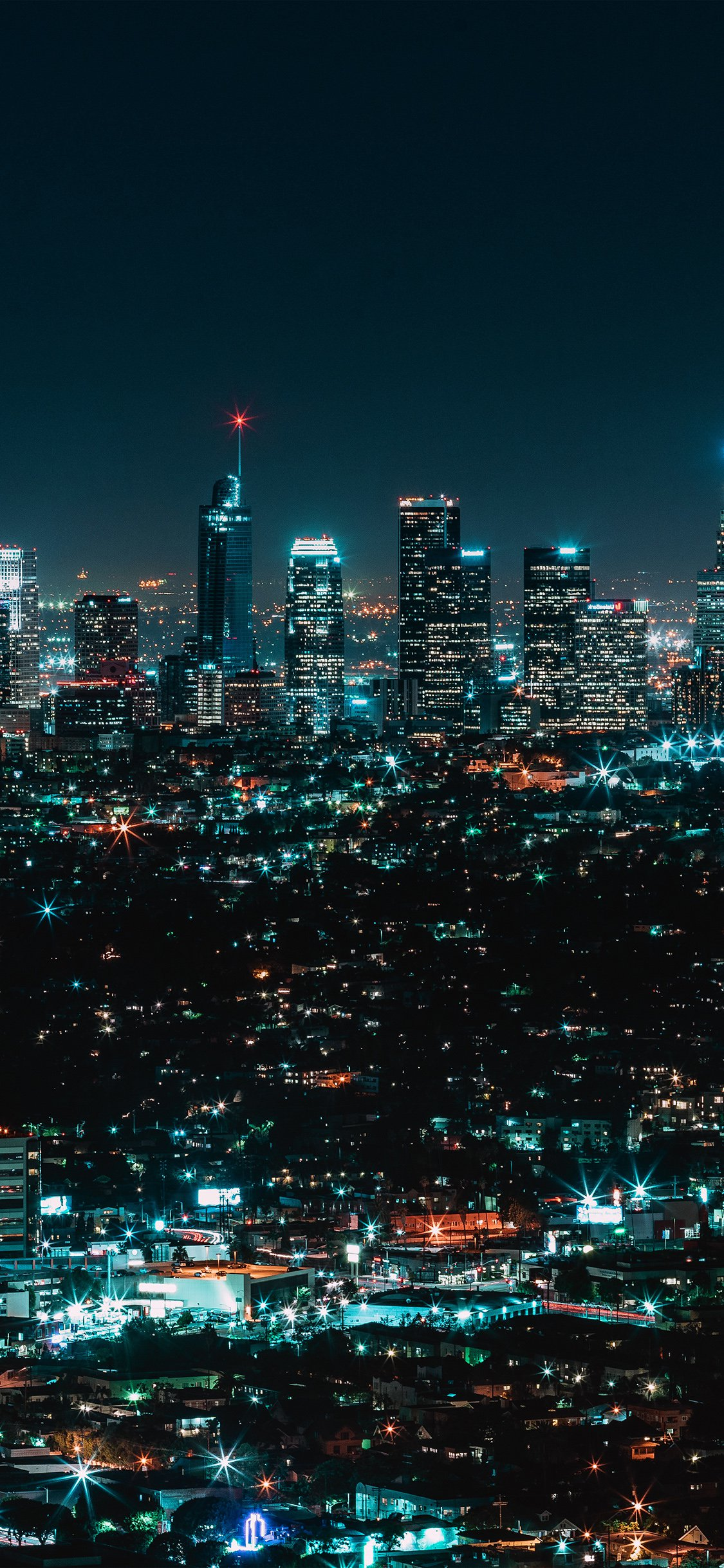 Newyork Night IPhone X Wallpaper