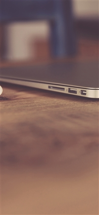 Soft macbook apple desk art bokeh iPhone X wallpaper