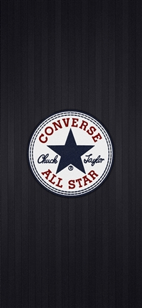 Converse all star logo iPhone X wallpaper