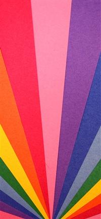 Rainbow light pattern iPhone X wallpaper