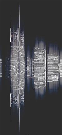 Tokyo building pattern  iPhone X wallpaper
