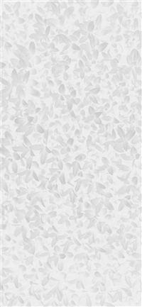 White leaf grass garden flower pattern iPhone X wallpaper