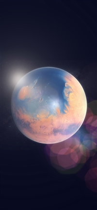 Space earth planet iPhone wallpaper