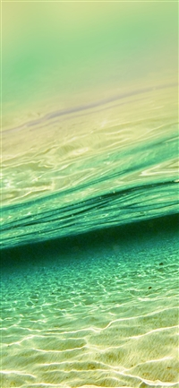 Sea dive iPhone X wallpaper