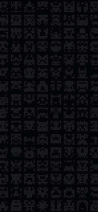 Alien symbol dark pattern iPhone X wallpaper