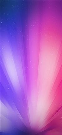 Bright shine rainbow blue pattern iPhone X wallpaper