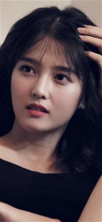 Kpop girl cute dark iPhone X wallpaper
