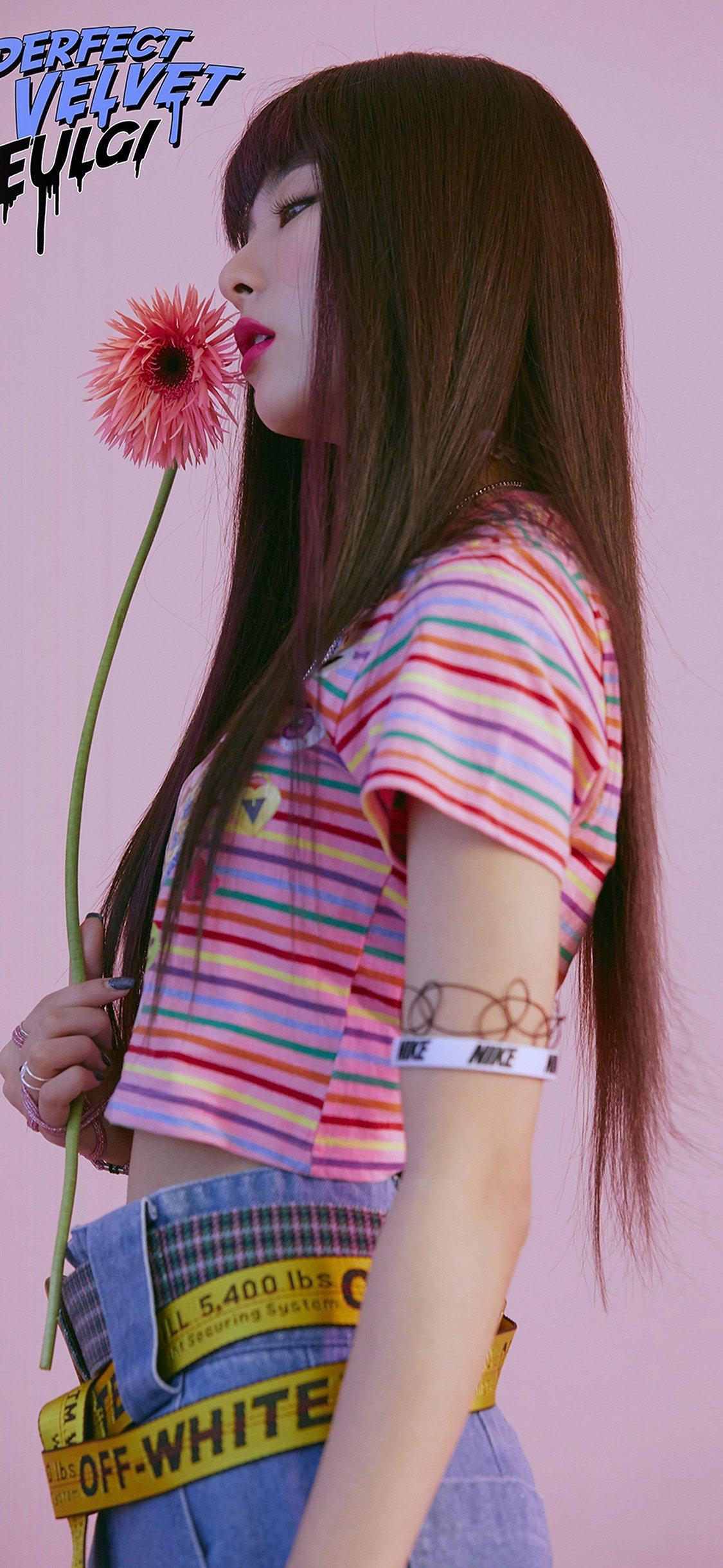 Asian girl iPhone X wallpaper