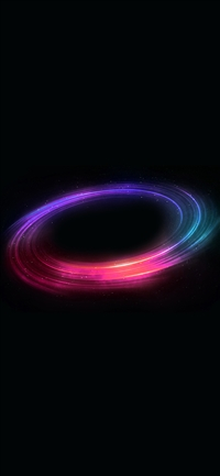 Space magic circle red art pattern iPhone X wallpaper