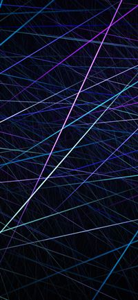 Straight lines blue party pattern iPhone X wallpaper