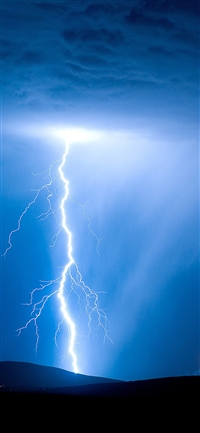 Psionic storm sky nature iPhone X wallpaper