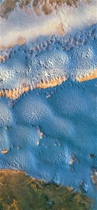 Nature earthview algeria blue iPhone X wallpaper
