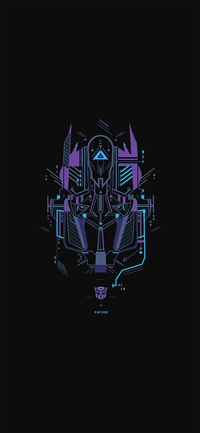 Transformer logo two art illust iPhone wallpaper