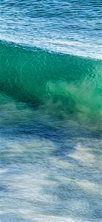 Sea wave ocean summer fun iPhone X wallpaper