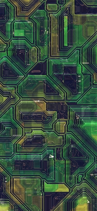 Electric mother board pattern background iPhone X wallpaper
