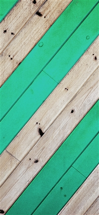 Stripe green wood pattern iPhone X wallpaper