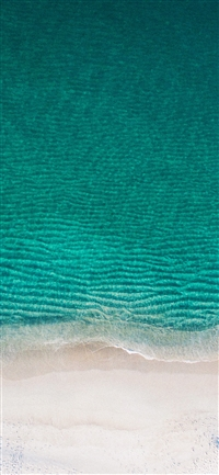 The beach iPhone X wallpaper