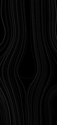 Lines curve dark pattern iPhone X wallpaper