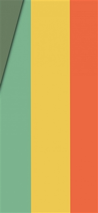 Lines rainbow color pattern iPhone X wallpaper