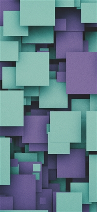 Square party purple pattern iPhone X wallpaper