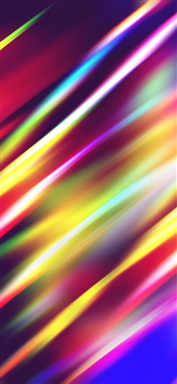 Lights rainbow pattern iPhone X wallpaper