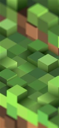 Pixel world game iPhone X wallpaper