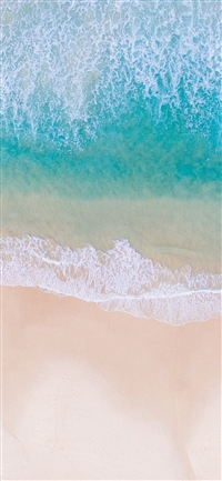 Sea beach water summer iPhone X wallpaper