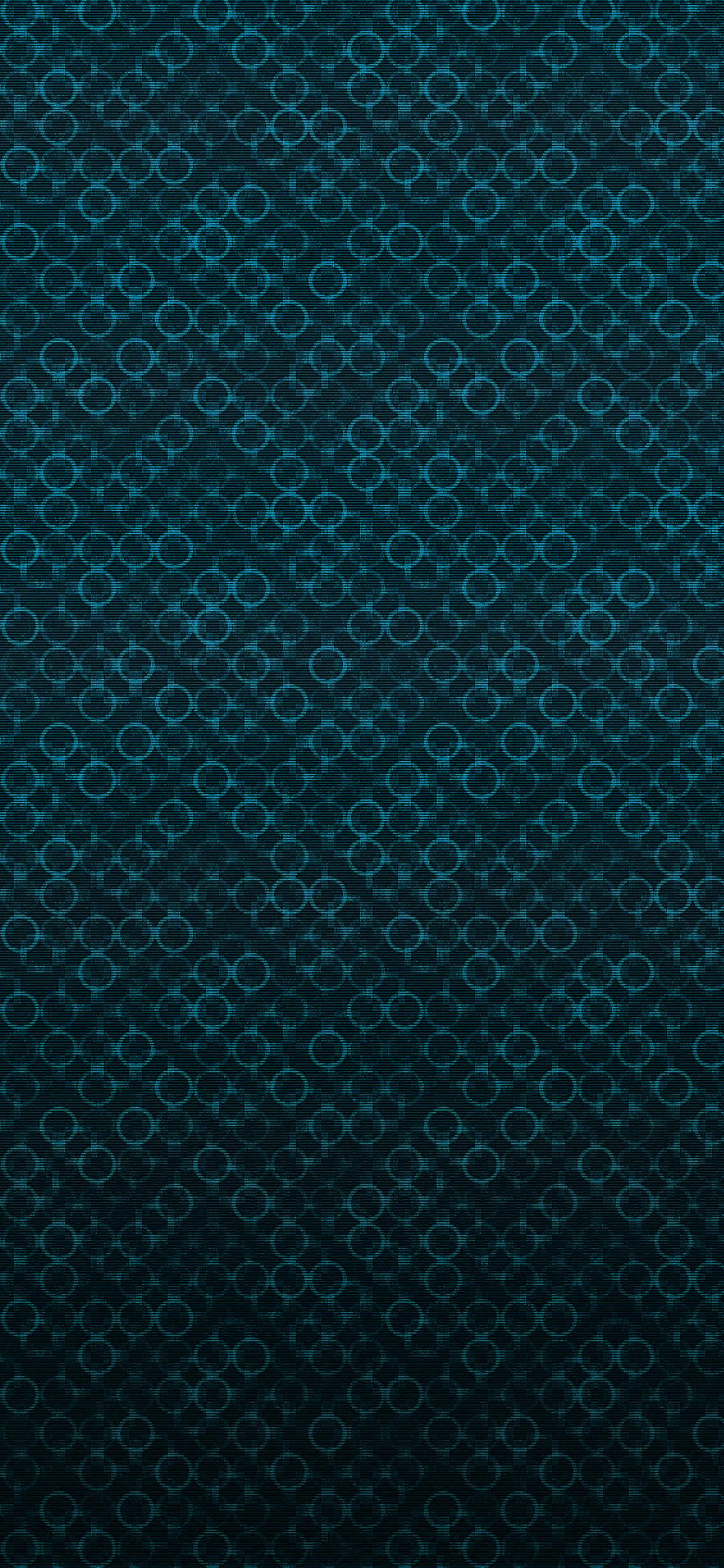 Strange dark blue pattern iPhone X wallpaper