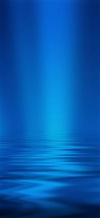 Sea blue ripple pattern iPhone X wallpaper