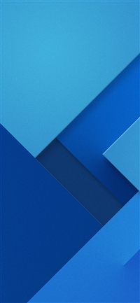 Blue abstract pattern iPhone X wallpaper