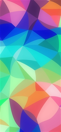 Rainbow abstract colors pastel pattern iPhone X wallpaper
