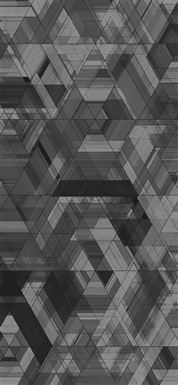 Space black abstract pattern art iPhone X wallpaper