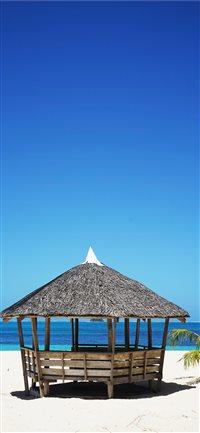 Daku-Island--General-Luna--Philippines iPhone X wallpaper