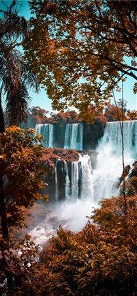 Iguazu-Falls iPhone X wallpaper