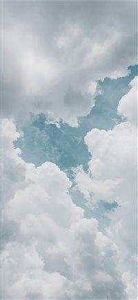 Look-Above iPhone X wallpaper