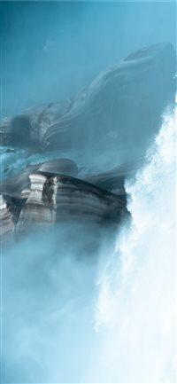 Roaring-Falls iPhone X wallpaper