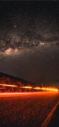 Lost in stars iPhone X wallpaper