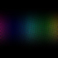 Rainbow Dotted pattern iPad wallpaper