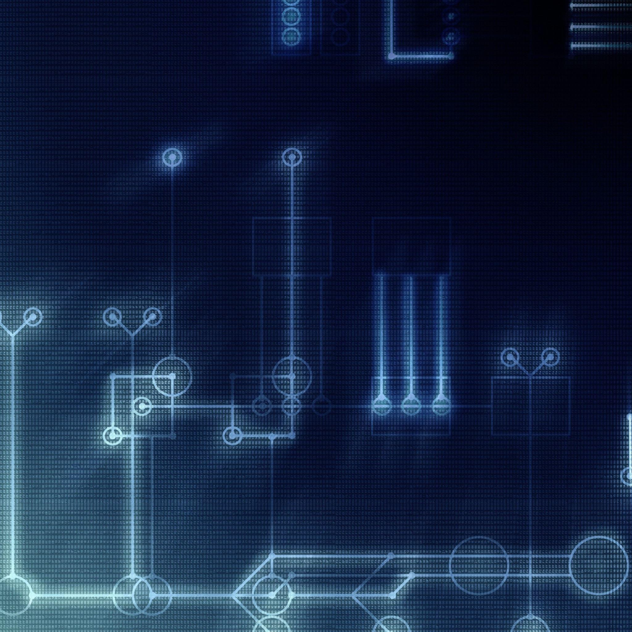 Hi Tech Texture IPad Air Wallpaper Download