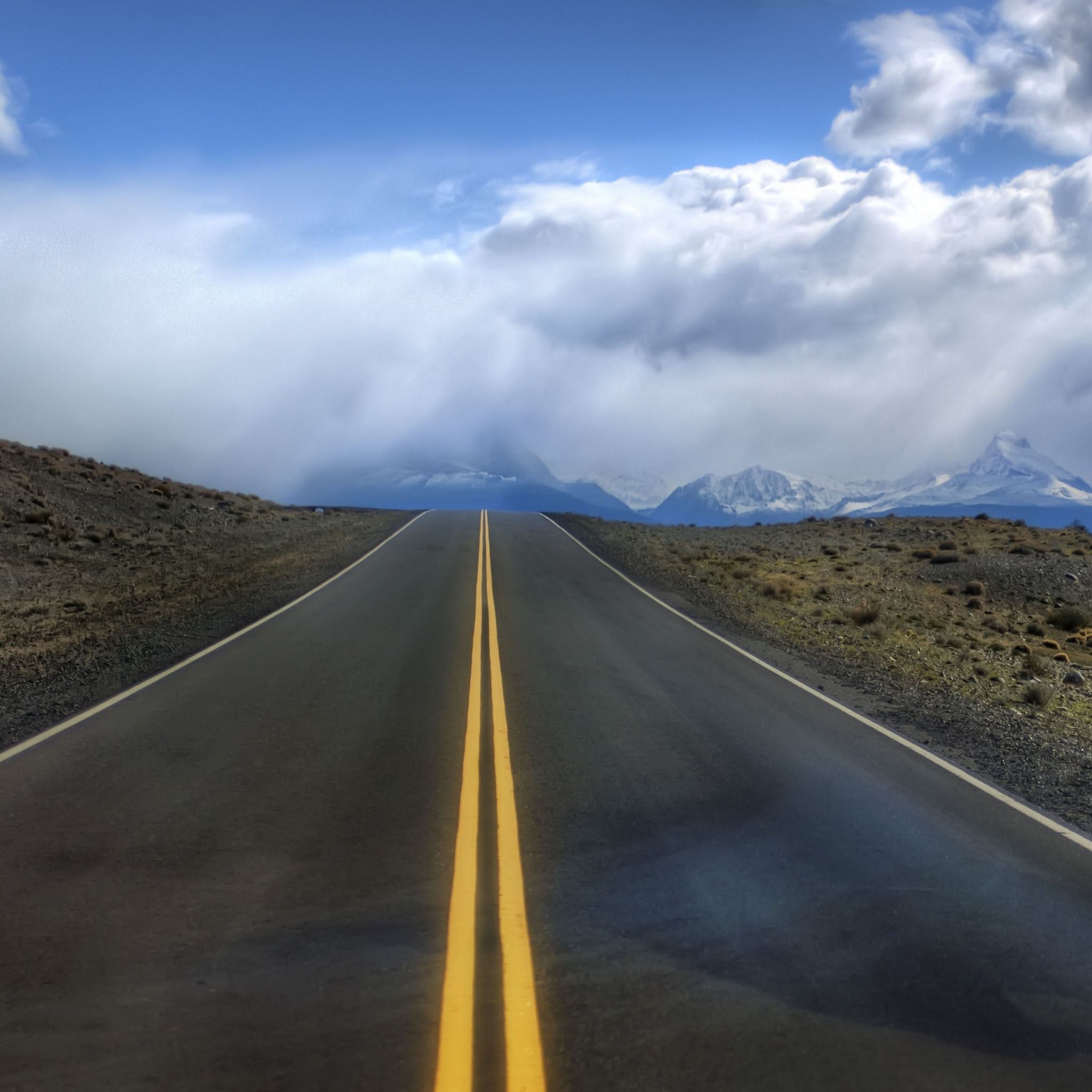Road in Argentina iPad Air wallpaper