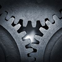 Gear Mechanism iPad Air wallpaper