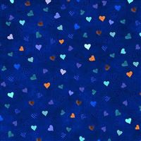 Hearts Blue iPad Air wallpaper