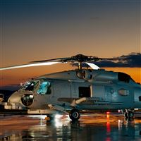 Helicopter Navy iPad Air wallpaper